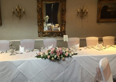 pink top table